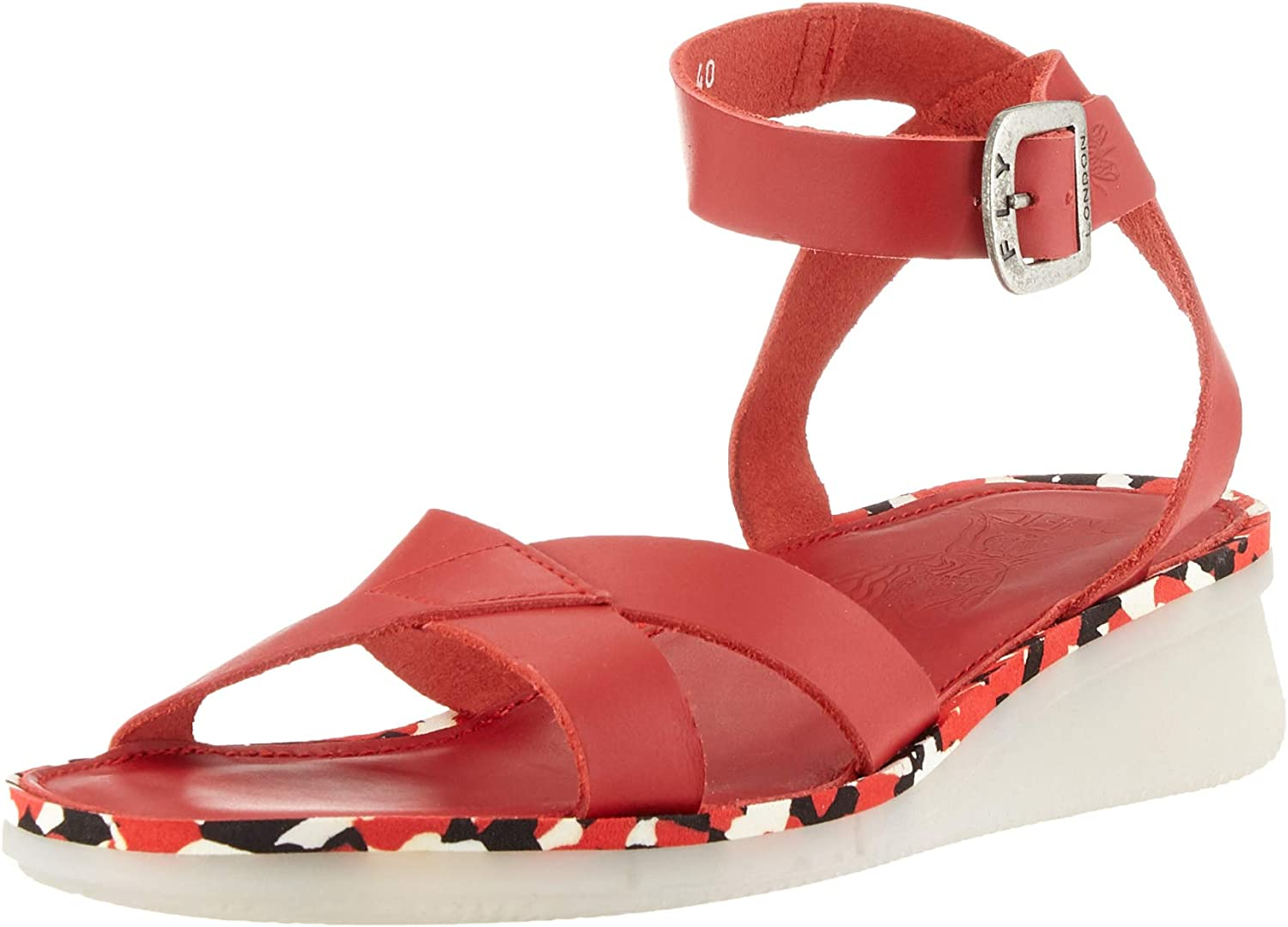 FLY London Women's Sandals Strap ! Super beauty product restock quality top! Ankle Genuine Free Shipping