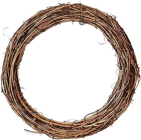 15 Plain Natural Handmade Vine Wreath Country Decor Rustic