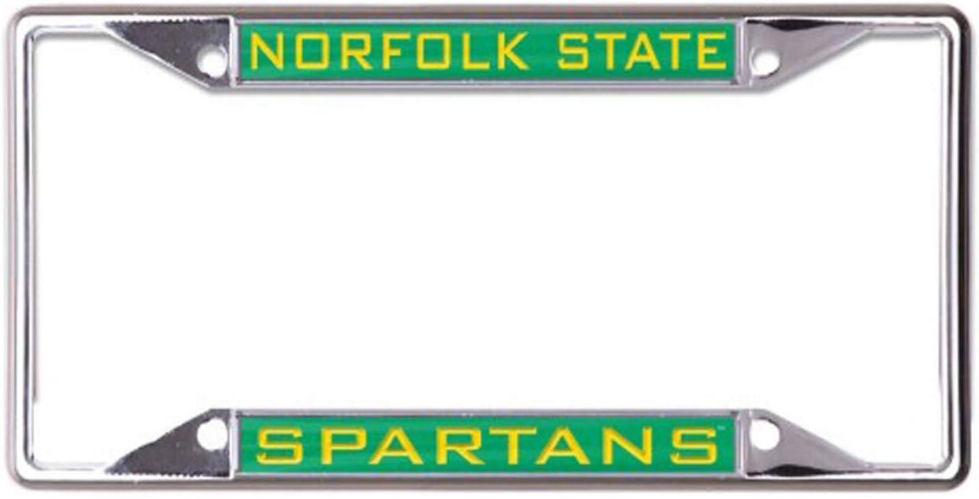 WinCraft Norfolk State University Spartans Premium License Plate Frame 4 Mount Holes