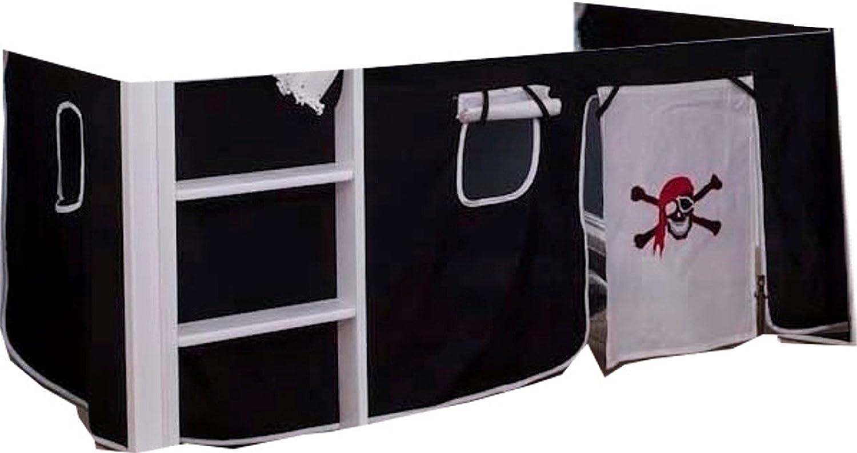 Rideaux pour lit mezzanine 2 pi/èces Motif pirate