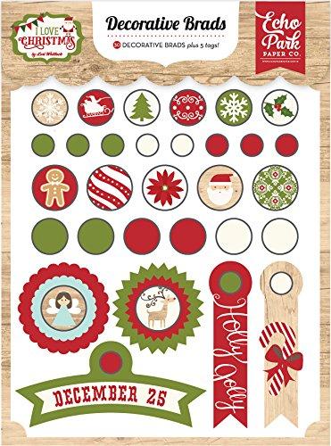 Echo Park Paper Company I Love Christmas Decorative ()