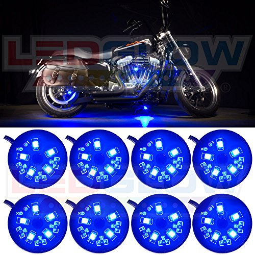 8pc motorcycle led lights - 4