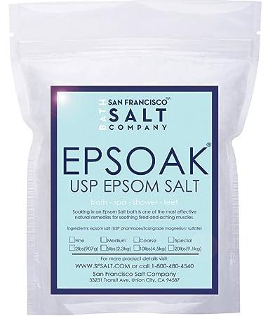 USP Epsom Salt (Magnesium Sulfate) 5 Lbs