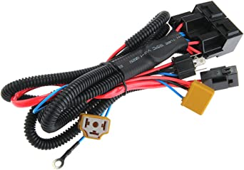 Carchet H4 Halogen Scheinwerfer 35w Booster Kabelbaum Anschluss Relais Sicherungssockel Beleuchtung