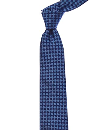 92c97307c9b9 Turnbull & Asser Mens Blue Check Silk Tie, Os at Amazon Men's ...