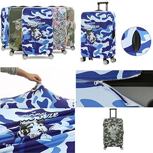 eisetasche Gepäck Abdeckung Staub Prevent Suits für 18-20 Zoll Gepäck-Blau Mehrfarbig 16 lU8gAP