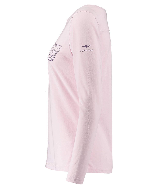 KAIKKIALLA Damen Shirt Eliisa Langarm