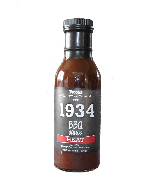 1934 BBQ Sauce - Heat 14 OZ.   Medium Heat from Cayenne Pepper   A