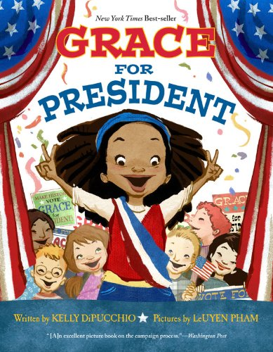 Women activists books: Grace for President _Books About Strong Women