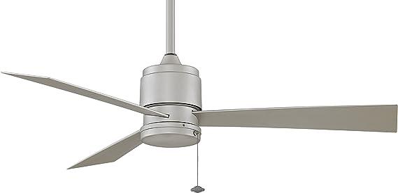 Fanimation FP4640SN ventilador de techo Zonix Wet, níquel satinado, para el exterior: Amazon.es: Hogar