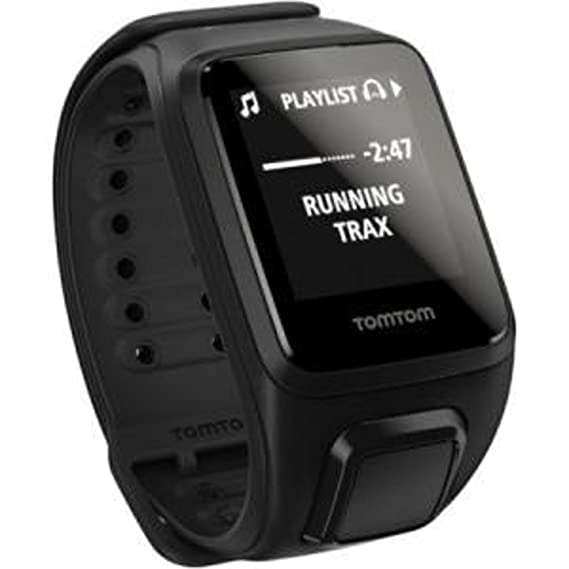 3d443c05db8 Amazon.com: TomTom Spark Music + Headphones, GPS Fitness Watch + 3GB ...