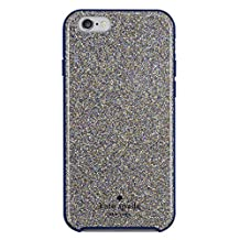 kate spade new york iPhone 6s Case [Shock Absorbing] Cover fits both Apple iPhone 6, iPhone 6s - Multi Glitter French Navy