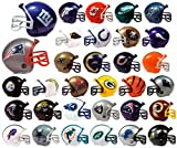FOOTBALL NFL Mini Helmets (32 count) BONUS: 12 MINI FOOTBALL HELMET STICKERS