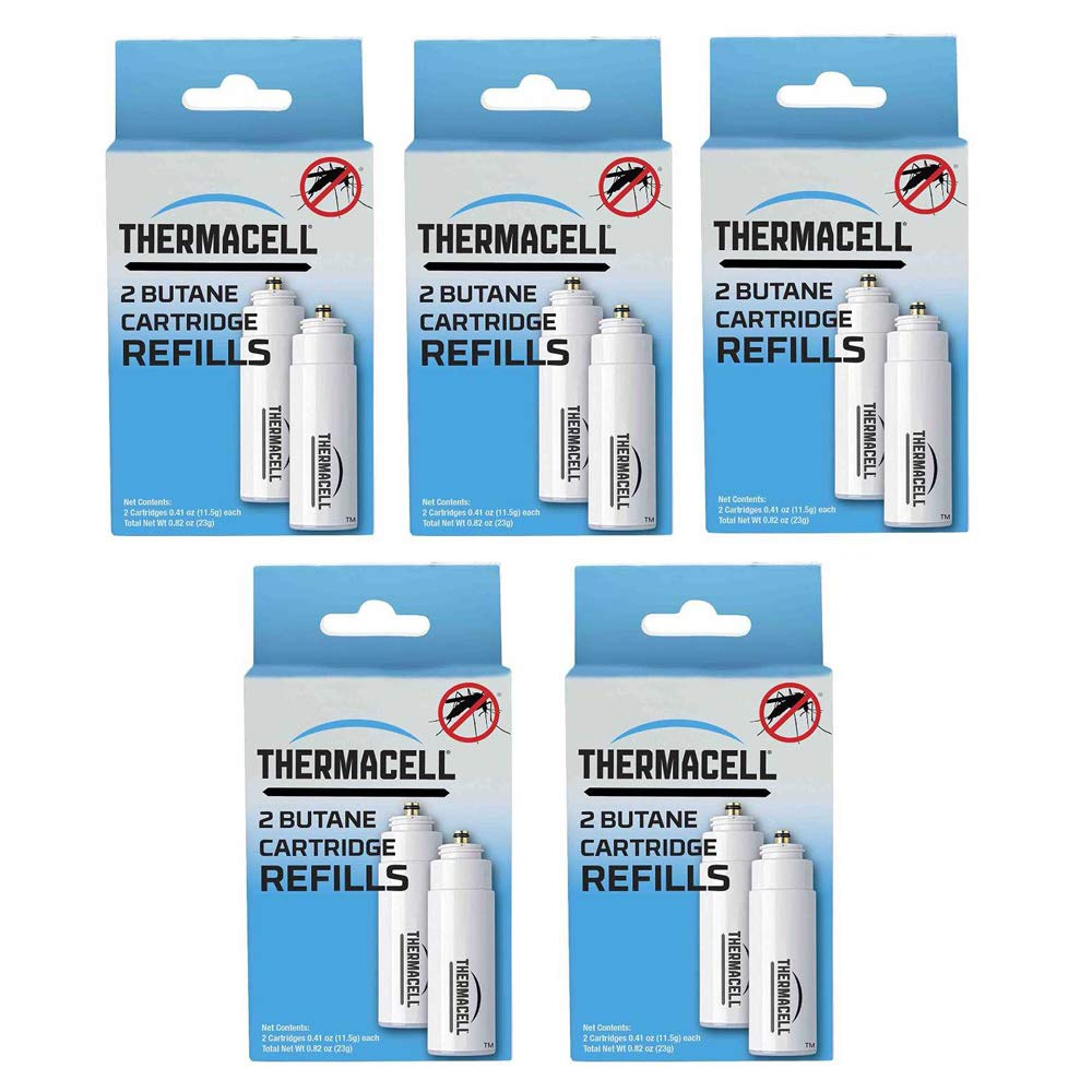 Thermacell C-2 10-Pack of Fuel Cartridges for All Mosquito Repellent Devices, Lasts Five Days by Thermacell