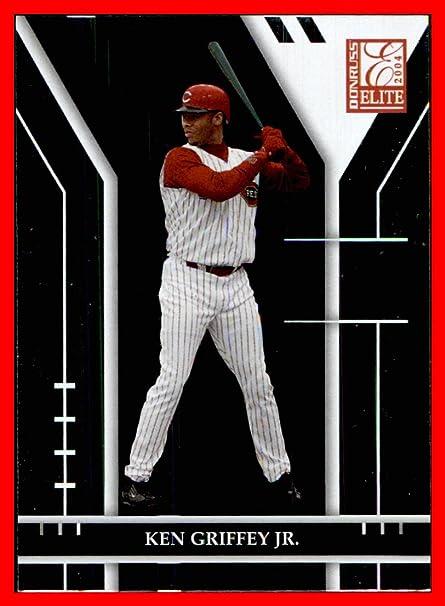 Amazon.com: 2004 Donruss Elite #88 Ken Griffey Jr. CINCINNATI REDS HOF (box108a): Sports Collectibles