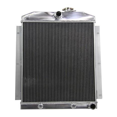 3ROW ALUMINUM RADIATOR FOR 1955-1959 CHEVY PICKUP TRUCK V8 55 56 57 58 59 AT//MT