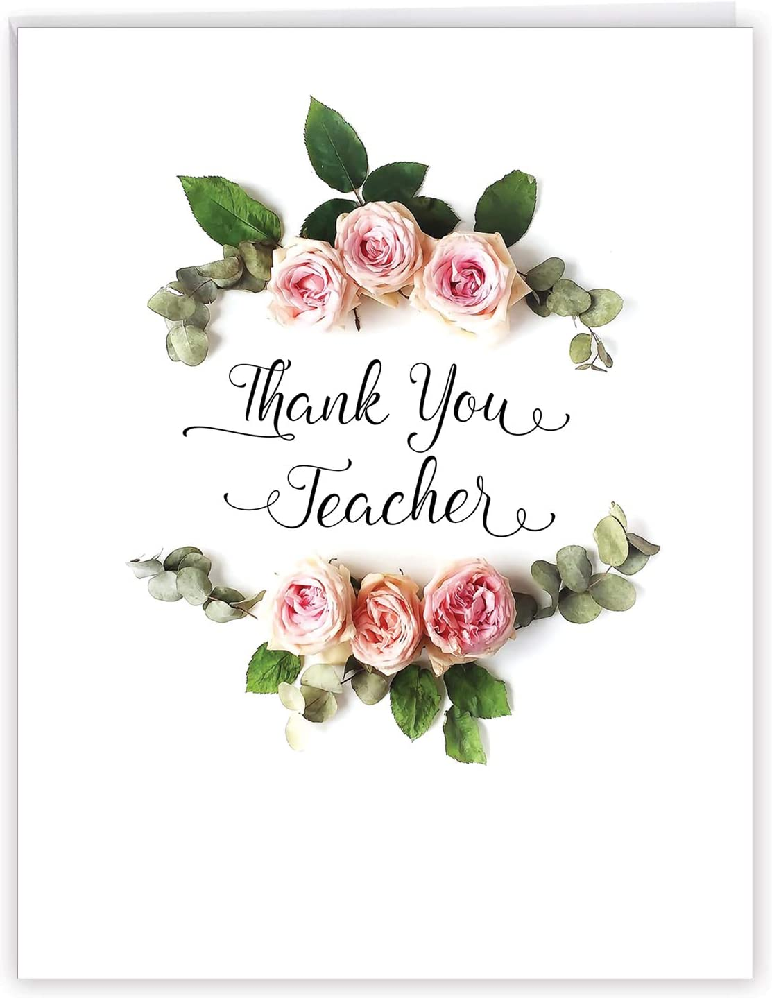 with envelope Teacher Appreciation Card