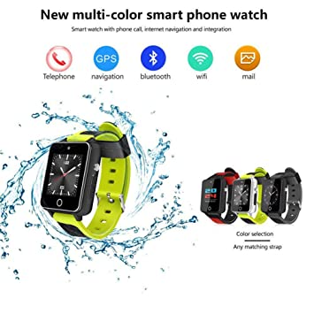 feiledi Trade - Reloj Inteligente Bluetooth 3G WiFi Quad Core ...
