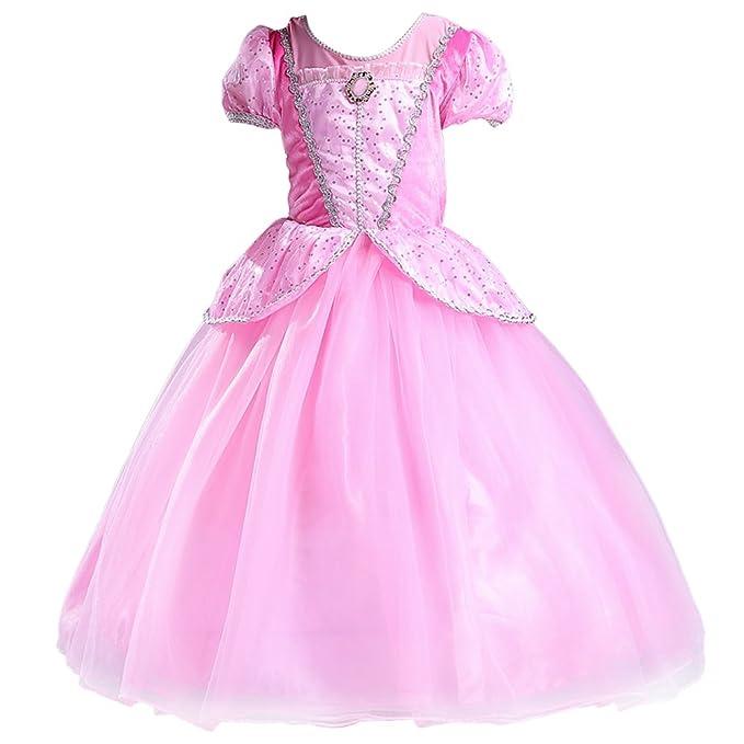 Amazon.com: YaphetsMall Sofia Princess Dress Princess Costume Fancy ...