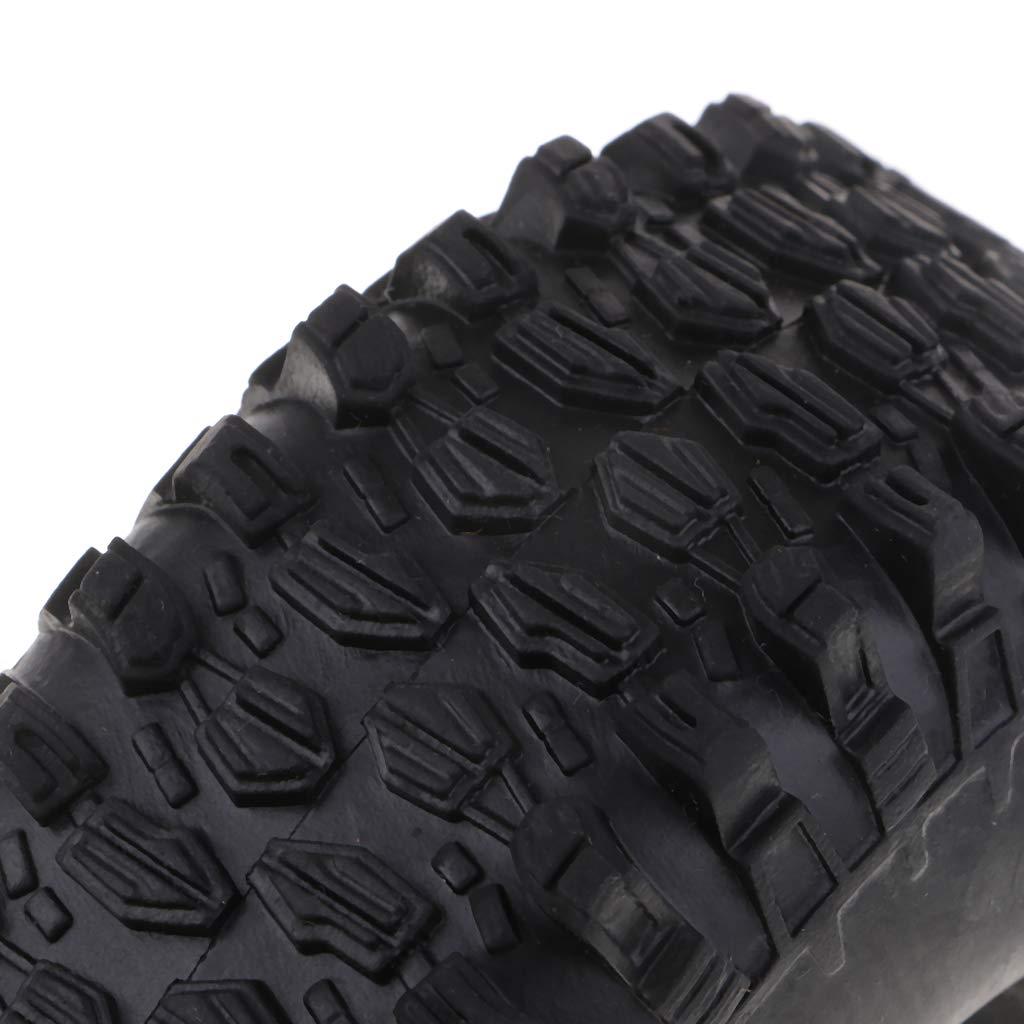 B Blesiya 4er-Set 1,9  Reifen Autoreifen Ersatzreifen f/ür 1:10 Axiale Scx10 D90 Cc01 RC Crawler