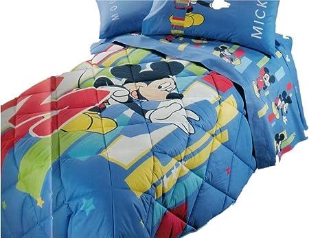 Trapunte E Piumoni Disney.Trapunta Disney Letto Singolo Mickey 28 Amazon It Casa E Cucina