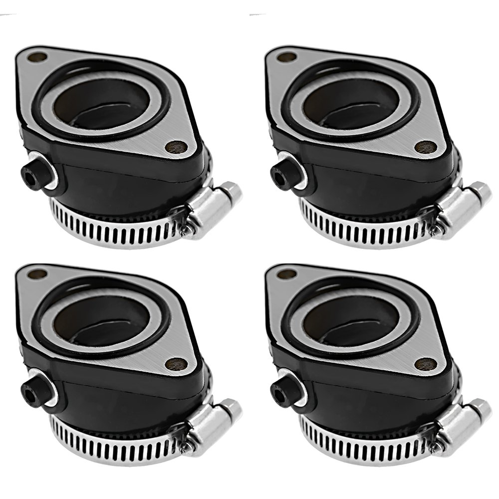 Pan300 Left and Right Carburetor Intake Manifold Boot Set of 4 for Suzuki GS850 GL 1980-1983
