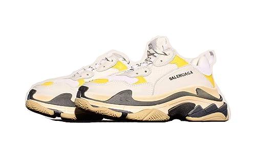 58ecc185f5df Hodasz Outdoor Sport Leisure Balenciaga Men s Vintage Triple-S Trainers  Fashion Sneakers (US Men s