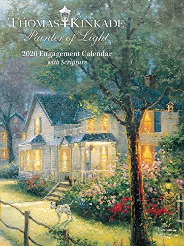 Thomas Kinkade Painter of Light with Scripture 2020 Engagement Calendar