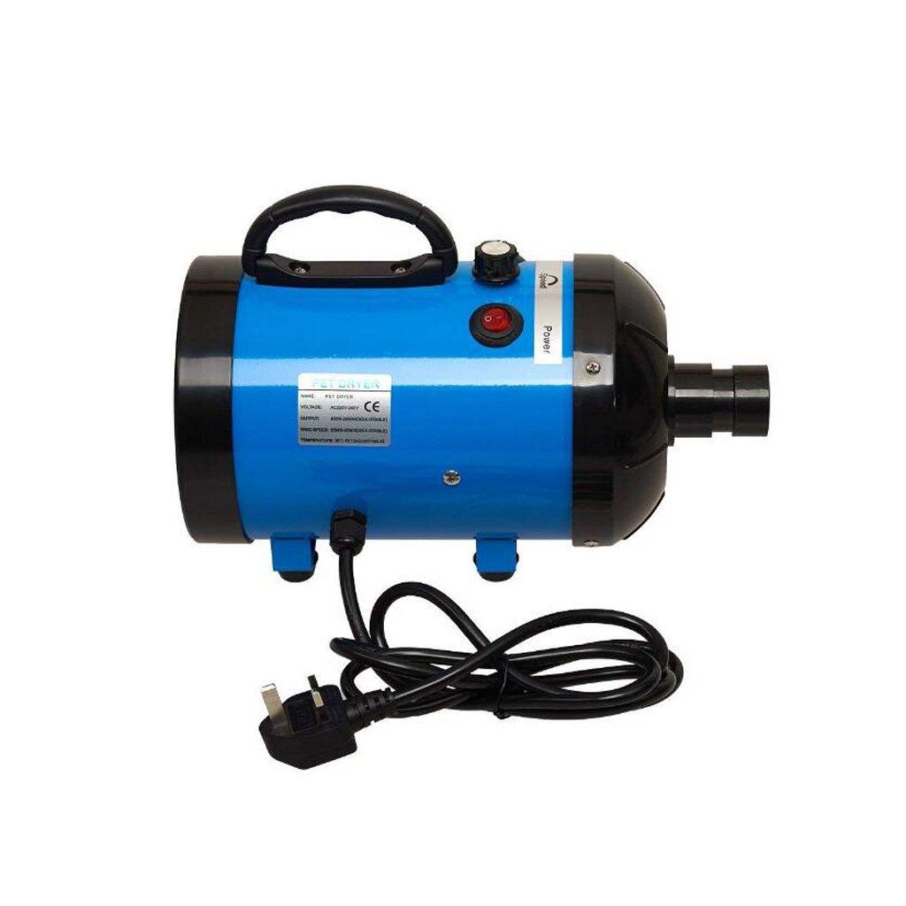 Jlxl Pet Dryer Grooming Bathing Low Noise 2500W Dog Cat For Hair Hairdryer Blaster Blower (bluee)