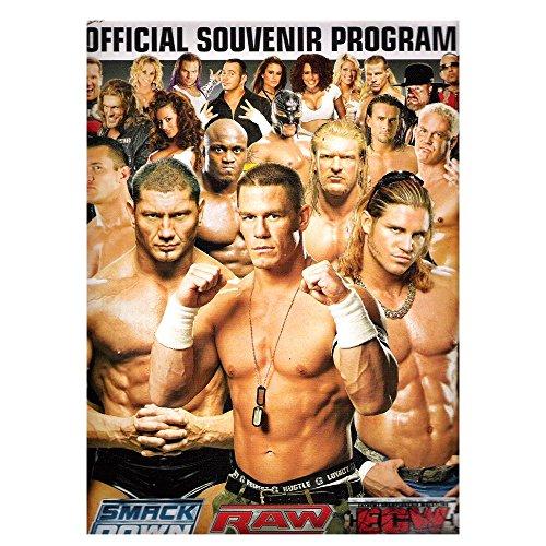 WWE World Wrestling Entertainment Official Souvenir Program 2007