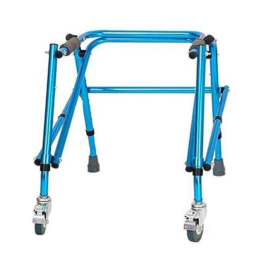 CLYZXQ Andador Anciano, Andador Plegable De Estructura De Aluminio ...
