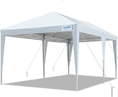 Quictent 10×20 Easy Pop up Canopy Tent Instant Canopy Shelter Waterproof