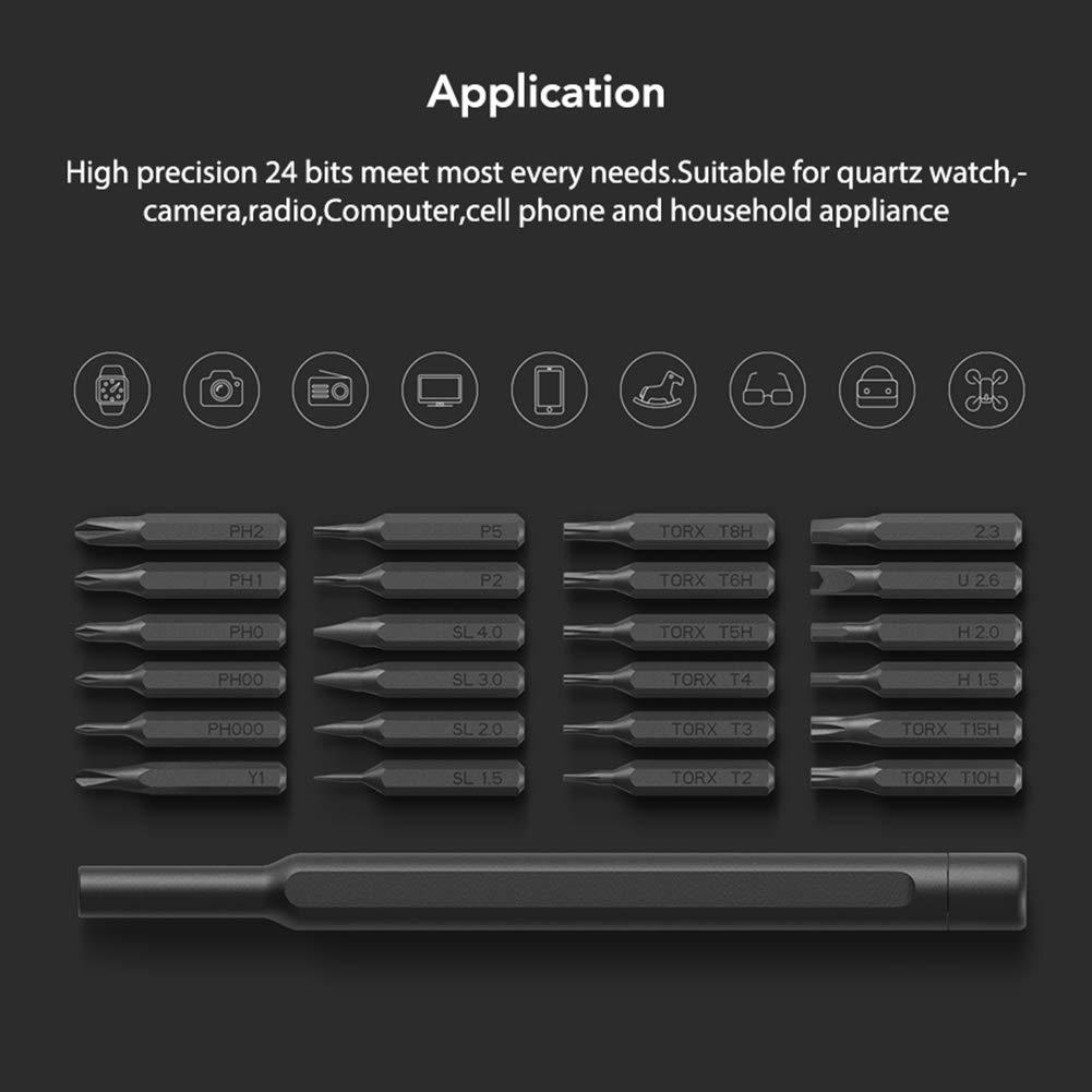 Fum Xiaomi Wiha - Kit de destornillador de precisión magnético 24 en ...