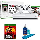 Microsoft Xbox One S 1TB Console, bundled with NBA 2K19 Edition with Red Dead Redemption 2