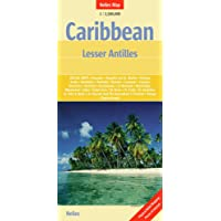 Nelles Map Caribbean Islands 2. Lesser Antilles 1 : 2 500 000: Special Maps of All Larger Islands
