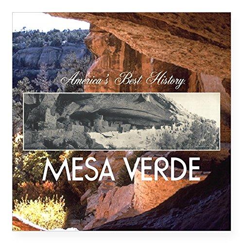 - CafePress ABH Mesa Verde Square Sticker 3