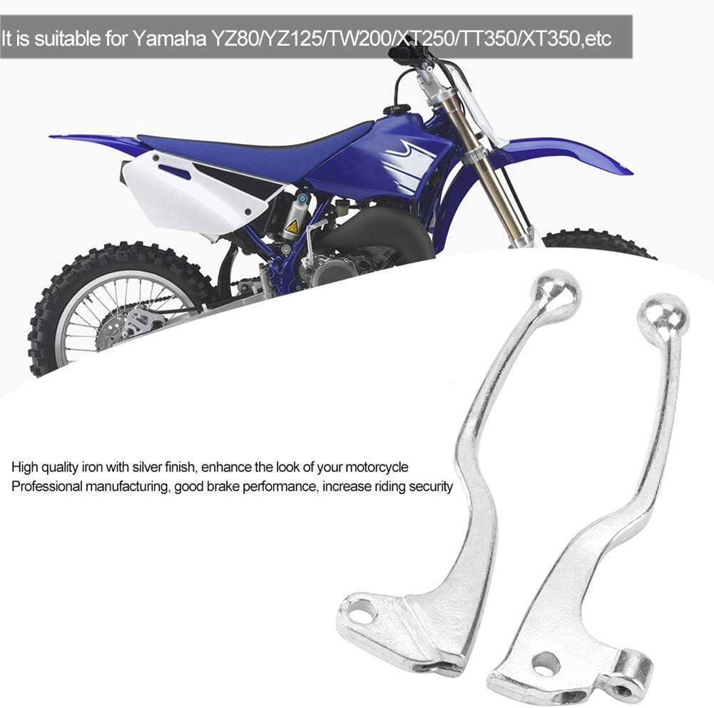Duokon 1 Pair of Motorcycle Clutch Brake Lever Handle for Yamaha YZ80//YZ125//TW200