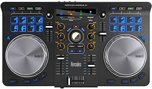 front facing hercules universal dj controller