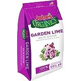 Jobe's Organics Garden Lime for Organic Gardening Soil De-Acidifier, pH Balancer Turns Hydrangeas Pink, 6 pound bag