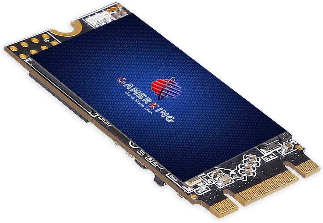 Gamerking SSD M.2 2242 512GB NGFF Internal Solid State Drive High Performance Hard Drive for Desktop Laptop SATA III 6Gb/s M2 SSD(512GB, M.2 2242)