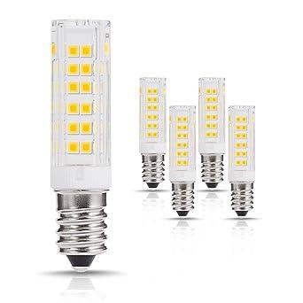 LOHAS 7W E14 LED bombillas? Equivalencia incandescente 60W, 500 Lúmenes y Blanco Cálido 3000K