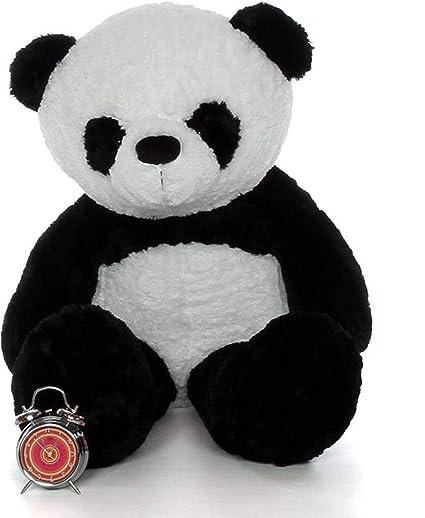97194e54b15 Buy AV Toys 3 Feet Stuffed Huggable Cute (White   Black 91 cm)Panda Teddy  Bear Birthday Gifts Girls Lovable Special Gift (AV Toys 3 Feet Panda 91-5)  Online ...