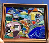 RV Camping Stained Glass Window Art Sun Catcher