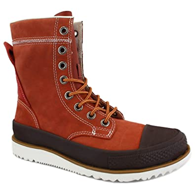 1226d81f9578 Converse Chuck Taylor All Star X-Hi Major Mills 132401 Mens Laced Leather  Boots Burnt Henna - 9  Amazon.co.uk  Shoes   Bags