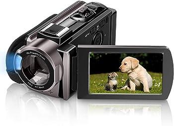 Melcam 604AM 1080p SDHC/SD Camcorder