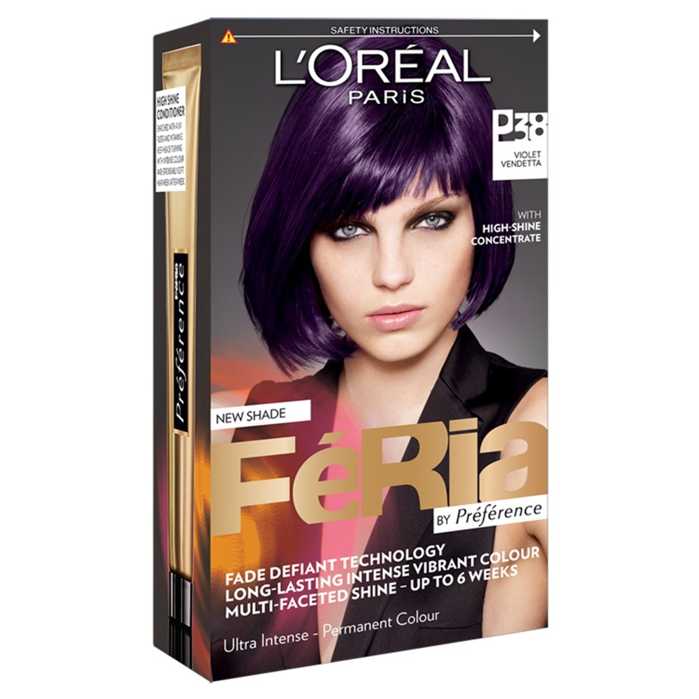 Amazon Loreal Feria Ultra Lighting Permanent Hair Colors P38