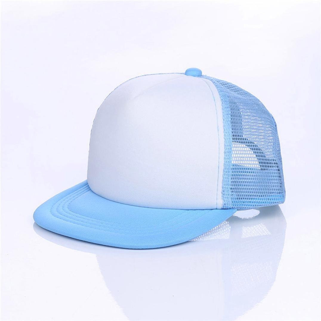 d030da1b00c2 Amazon.com: Baseball Hats for Little Boys Gilrs, Clearance Sale Iuhan  Summer Baby Hat Cap Children Breathable Hat Show Kids Hat Boy Girls Hats  Caps (Black): ...