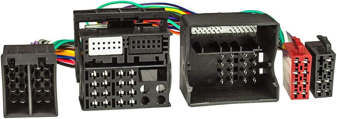 tomzz Audio 7304 – 002 cable de adaptador de derivación ISO (T) (40 Cable) para BMW a partir de 2001 Para Manos Libres Con conector ISO (por ejemplo ...