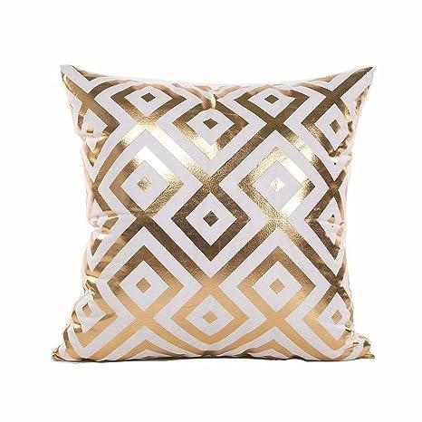 liangsiwenhua - Cojín Decorativo para sofá, diseño de Hojas ...