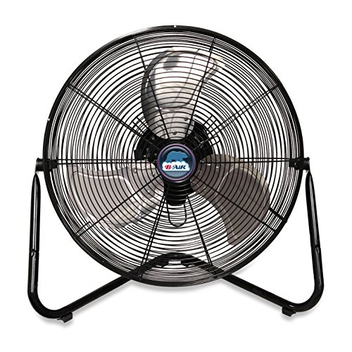 Grade Pedestal Oscillating Industrial Fan - B-Air FIRTANA-20X High Velocity Electric Industrial and Home Floor Fan, 20